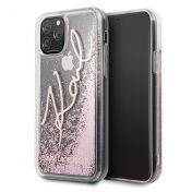 Калъф Original Faceplate Case Karl Lagerfeld KLHCN58TRKSRG iPhone 11 Pro Glitter Rose Gold
