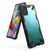 Калъф Ringke Fusion X Design PC Case Samsung A51 Black