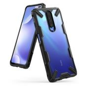 Калъф Ringke Fusion X Durable PC Case Xiaomi Redmi K30 Black