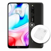 Xiaomi Redmi 8 64GB Dual Sim Onyx Black + Кантар за тяло Xiaomi Mi Body Composition Scale 2 White