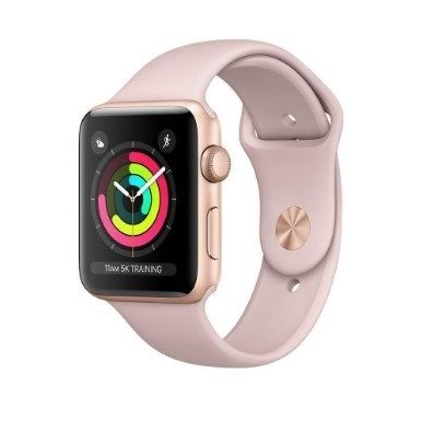 Apple Watch 3 LTE 42mm MQKQ2ZD/A Sport Gold/Pink Band
