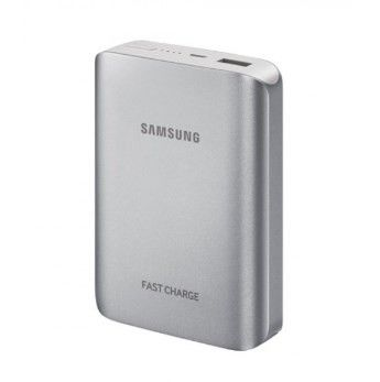 Външна батерия Samsung 25W Battery pack EB-PN930 pink gold 10,200mAh (25W Fast out / Type C / Combo Cable) Grey