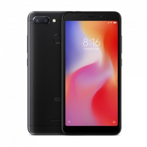 Xiaomi Redmi 6 64GB Dual Sim Black