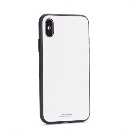 Калъф WK-Design Polaris Series Glass Case iPhone X White