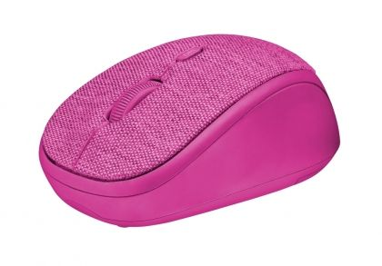 Мишка Trust Yvi Fabric Wireless Mouse Pink