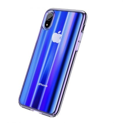 Калъф Baseus Aurora Case Apple iPhone XR Blue