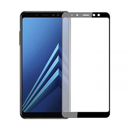 3D Стъклен Протектор Samsung Galaxy A7 2018 Full Glue Black