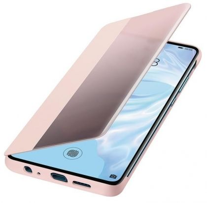 Калъф Huawei P30 Elle Smart View Flip Cover Pink