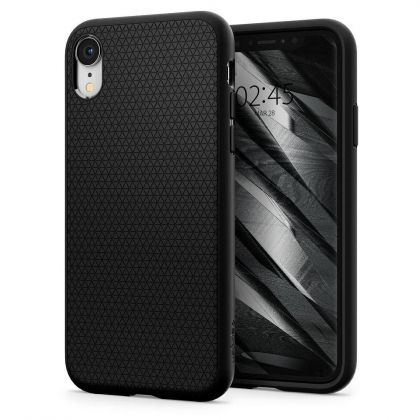 Калъф Spigen Liquid Air iPhone XR Matte Black