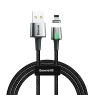Кабел Baseus Zinc Magnetic Lightning Cable 2m Black