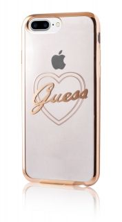 Калъф Guess за Iphone 7 Plus, Iphone 8 Plus, златист