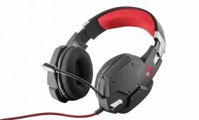Слушалки TRUST GXT 322 Dynamic Headset Black