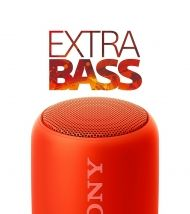 Тонколонa Sony SRS-XB10 Portable Wireless Speaker with Bluetooth Red