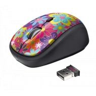 Мишка TRUST Primo Wireless Mouse flower power