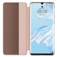 Калъф Huawei P30 Pro Vogue Smart View Flip Cover Pink