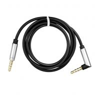 AUX Cable 3,5mm At An Angle 90 Degree