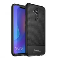 Калъф iPaky Carbon Fiber Flexible Cover TPU Case Huawei Mate 20 Lite Black