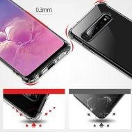 Калъф MSVII Airbag Case Strong Corners Samsung Galaxy S10 Transparent