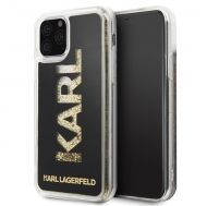 Калъф Original Faceplate Case Karl Lagerfeld KLHCN58KAGBK iPhone 11 Pro Glitter Black