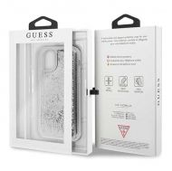 Калъф Original Faceplate Case Guess GUHCN61GLHFLSI iPhone 11 Silver
