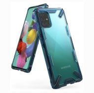 Калъф Ringke Fusion X Design PC Case Samsung A51 Blue