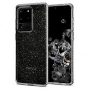 Калъф Spigen Liquid Crystal Samsung Galaxy S20 Ultra Glitter Crystal Quartz