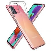 Калъф Spigen Liquid Crystal Samsung Galaxy A71 Crystal Clear