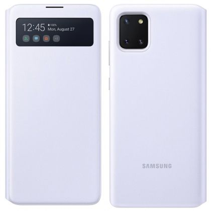 Калъф Wallet Cover S View EF-EN770PWEGEU Samsung Galaxy Note 10 Lite White