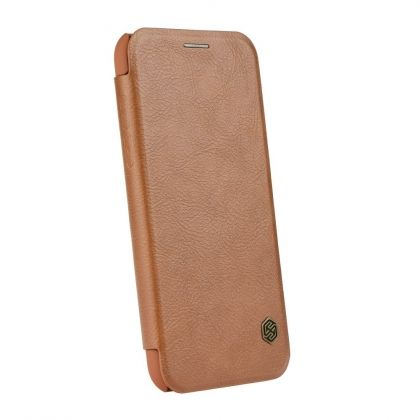 Калъф Nillkin Qin Leather Case iPhone XR Brown