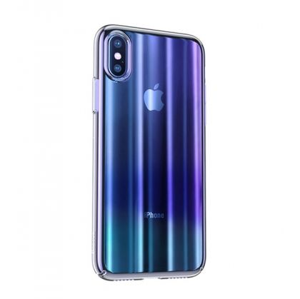 Калъф Baseus Aurora Case Apple iPhone XS Max Blue