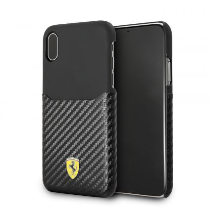 Калъф Original Hardcase Ferrari FESPAHCPXBK iPhone X Black