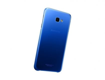 Калъф Samsung Galaxy J4 Plus 2018 Gradation Cover Blue