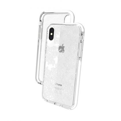 Калъф Gear4 Victoria Case iPhone X/XS White Coral