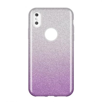 Калъф Wozinsky Glitter Case Shining Cover Huawei P30 Lite Purple