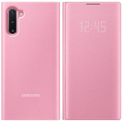 Калъф LED View Cover EF-NN970PPEGWW Samsung Galaxy Note 10 Pink