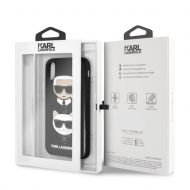 Калъф Original Faceplate Case Karl Lagerfeld KLHCPXKICKC iPhone X Black