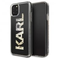 Калъф Original Faceplate Case Karl Lagerfeld KLHCN65KAGBK iPhone 11 Pro Max Glitter Black