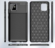 Калъф Business Carbon Samsung Galaxy A71 Black