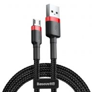 Кабел Baseus Cafule Cable Micro USB 1m Black-Red