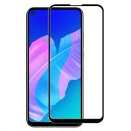 3D Стъклен Протектор Huawei P40 Lite Tempered Glass Full Glue Black