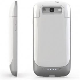 Mophie Juice Pack Battery Case For Samsung Galaxy S3 (White)