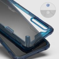 Калъф Ringke Fusion X Durable PC Case Samsung Galaxy A70 Blue