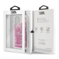 Калъф Original Faceplate Case Karl Lagerfeld KLHCN61ROPI iPhone 11 Glitter Pink