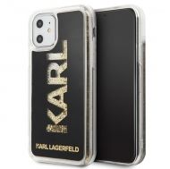 Калъф Original Faceplate Case Karl Lagerfeld KLHCN61KAGBK iPhone 11 Glitter Black