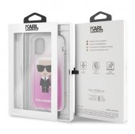 Калъф Original Faceplate Case Karl Lagerfeld KLHCN58TRDFKPI iPhone 11 Pro Pink