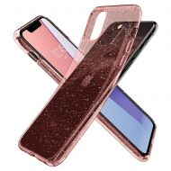 Калъф Spigen Liquid Crystal iPhone 11 Pro Max Glitter Rose