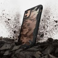Калъф Ringke Fusion X Durable PC Case Apple iPhone 11 Camo Black