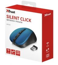 Мишка TRUST Mydo Silent Wireless Mouse Blue