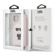 Калъф Original Faceplate Case Karl Lagerfeld KLHCN61SLFKPI iPhone 11 Pink