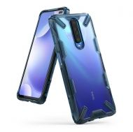 Калъф Ringke Fusion X Durable PC Case Xiaomi Redmi K30 Blue